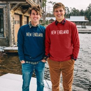 Kiel James Patrick Arrowknit Crew Sweatshirt
